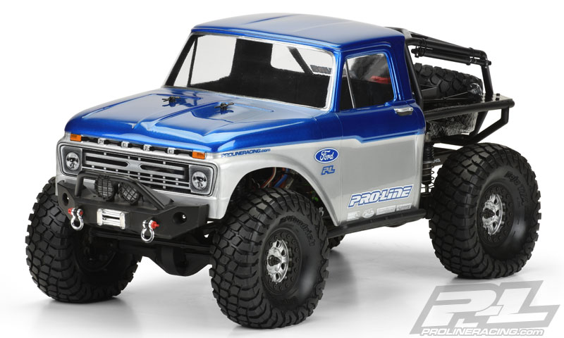 "Pro-Line 1966 FordR F-100 for SCX10 Trail Honcho 12.3"" (313mm) w"