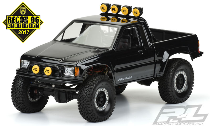 Pro-Line 1985 Toyota HiLux SR5 Clear Body (Cab & Bed) for SCX10