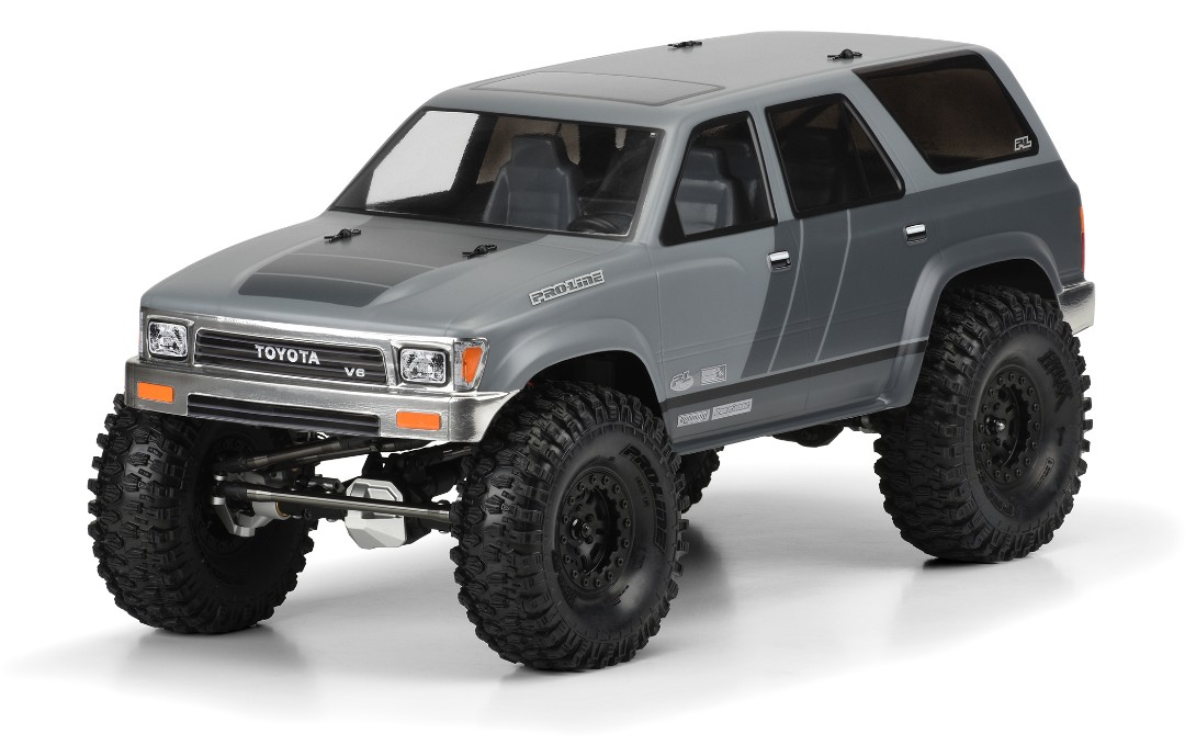 "Pro-Line 1991 Toyota 4Runner Clr Bdy 12.3"" (313mm) WB Crawlers"