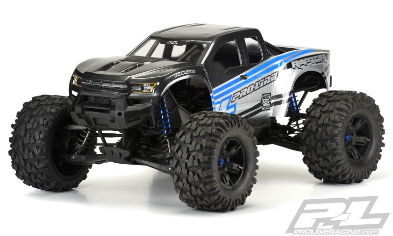 Pro-Line Pre-Cut 2017 FordR F-150 Raptor Clear Body for X-MAXXR