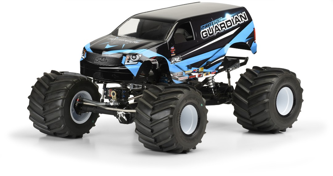 Pro Line Guardian Clear Body for Solid Axle Monster Truck