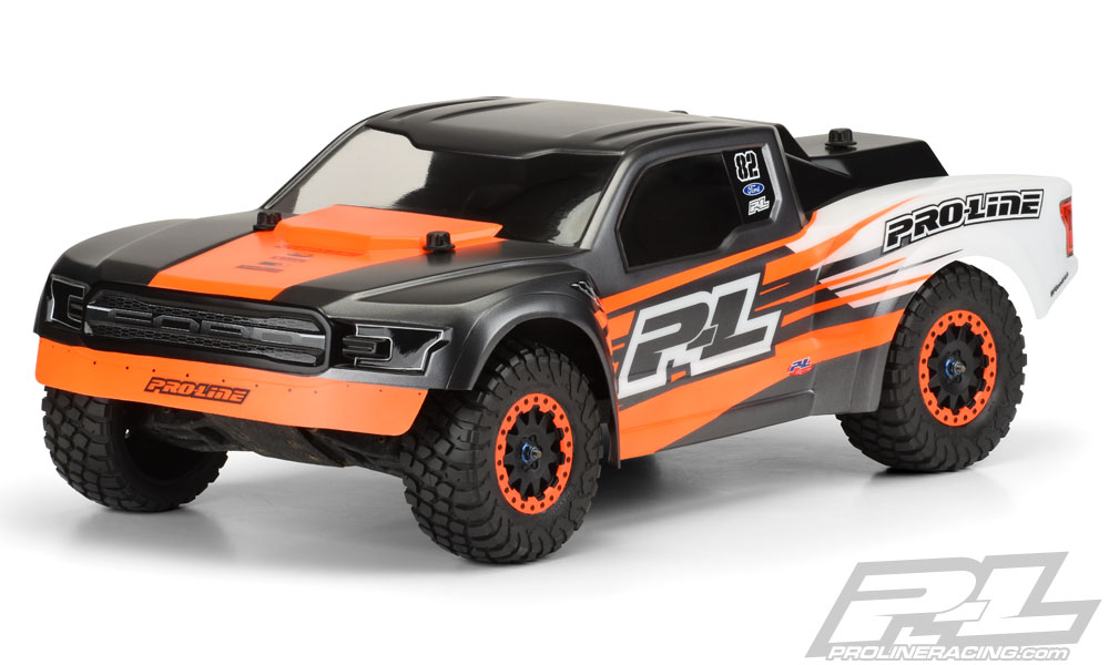 Pro-Line 2017 Ford F-150 Raptor Desert Truck Clear Body