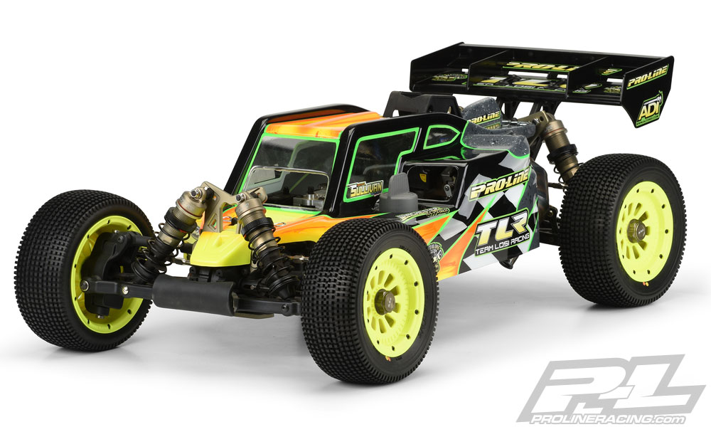 Pro-Line Pre-Cut Elite Clear Body for 5ive-B