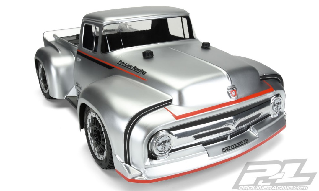 PRO-Line Racing 1956 Ford F-100 Pro-Touring Street Truck Clear