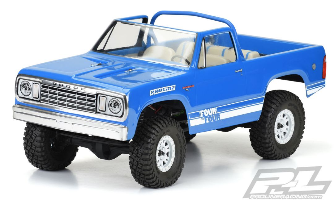 "Pro-Line 1977 Dodge Ramcharger Clear Body for 12.3"" (313mm) Whe"