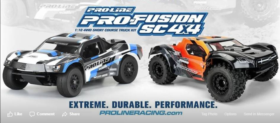 PRO-Fusion SC 4x4 1/10 4WD Short Course Truck Ready-To-Build Ki