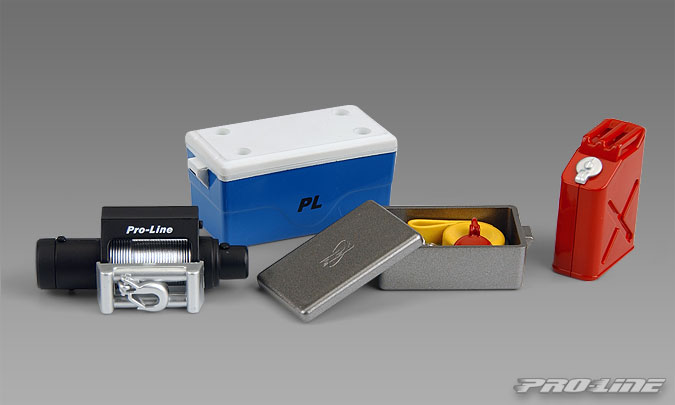 Pro-Line Scale Accessory Assortment #1 (Cooler with Cover, Winch