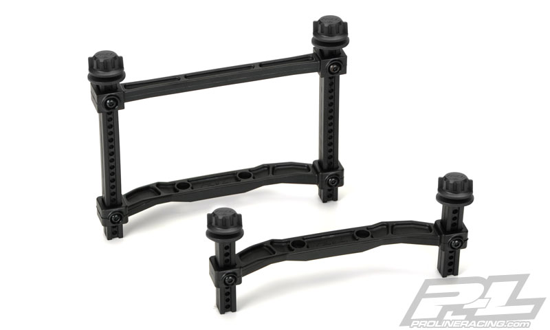 Pro-Line Extended Front and Rear Body Mounts for SlashR 4x4