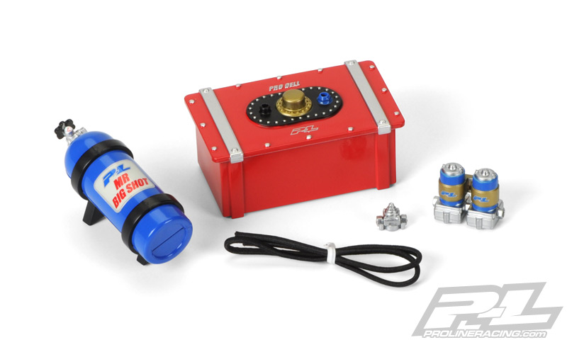 Pro-Line Scale Accessory Assortment #8 (Fuel Cell, Nitro Bottle,