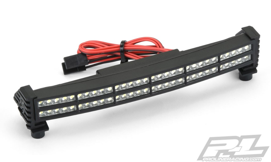 Pro-Line Double Row 6 Super-Bright LED Light Bar Kit 6V-12V (Cu