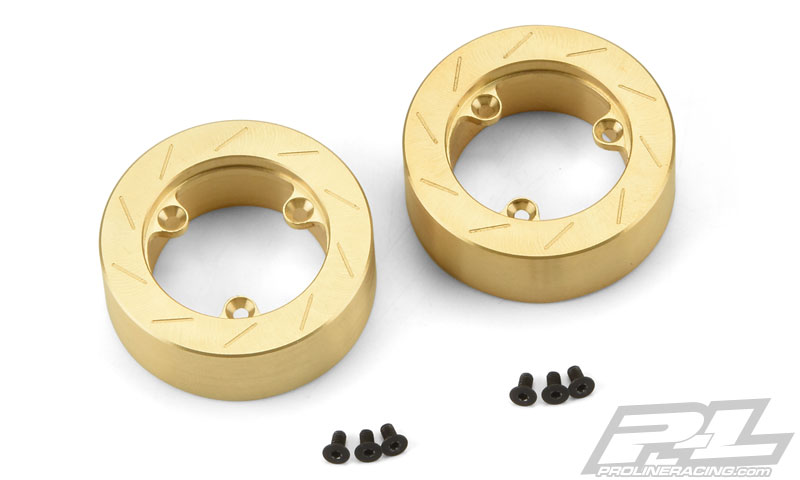 Pro-Line Brass Brake Rotor Weights (2) for 6292-00