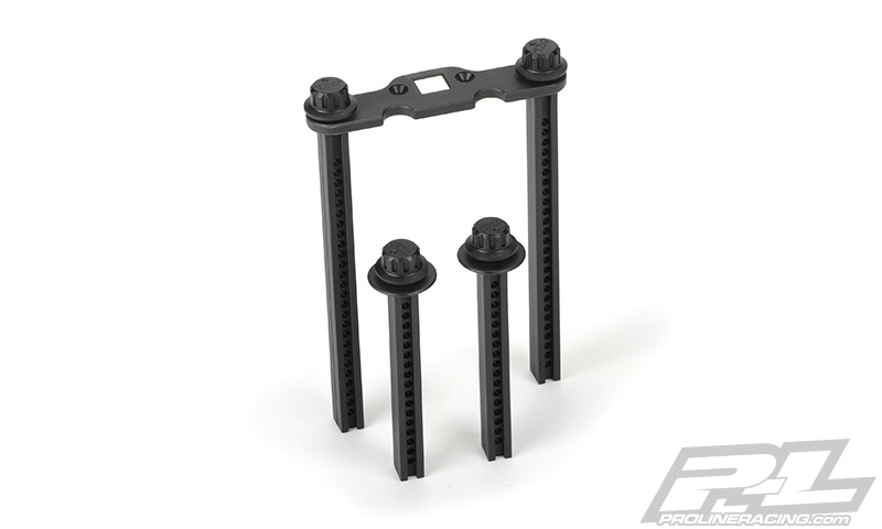 Pro-Line Extended Front and Rear Body Mounts for REVOR 3.3, E-RE