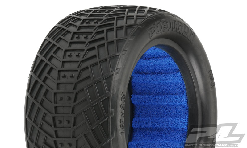 Pro-Line Positron 2.2in MC (Clay) Off Road Buggy Rear Tires, Inc