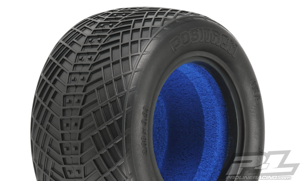 "Pro-Line Positron T 2.2"" M4 (Super Soft) Off-Road Truck Tires (2"