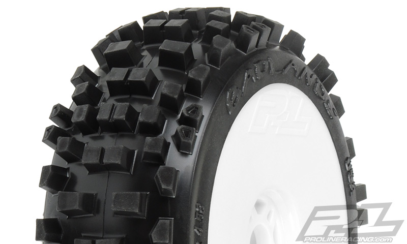 Pro-Line Badlands XTR (Firm) All Terrain 1:8 Buggy Tires Mounted