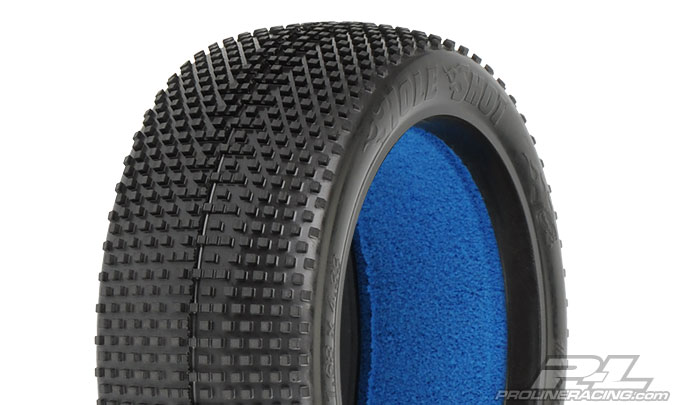 Pro-Line Hole Shot M4 1/8 Buggy Tire w/Closed Cell Inserts (2)