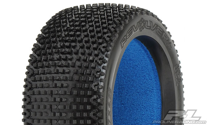 Pro-Line V3 Revolver M3 1/8 Buggy Tires with Molded Foams (2)