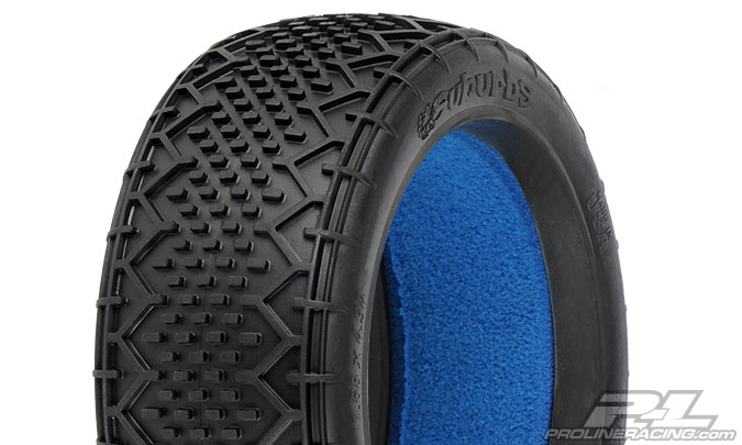 Pro-Line Suburbs MC 1/8 Buggy Tires w/Closed Cell Inserts (2)