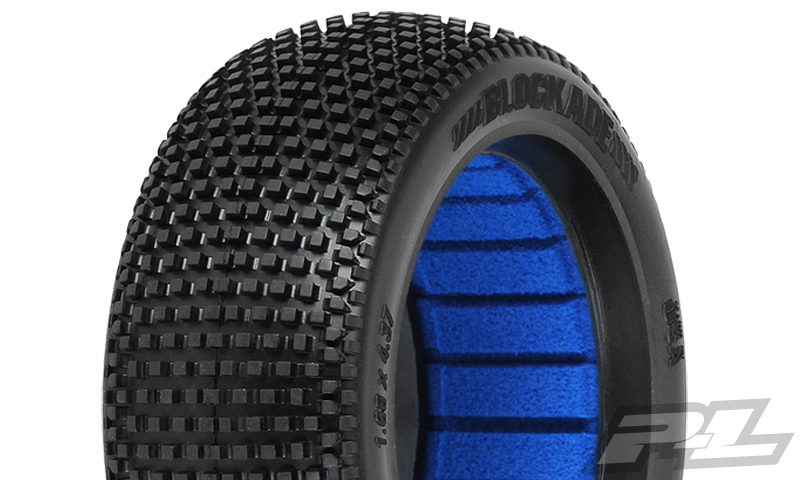Pro-Line Blockade X3 (Soft) Off-Road 1:8 Buggy Tires (2) Front/R