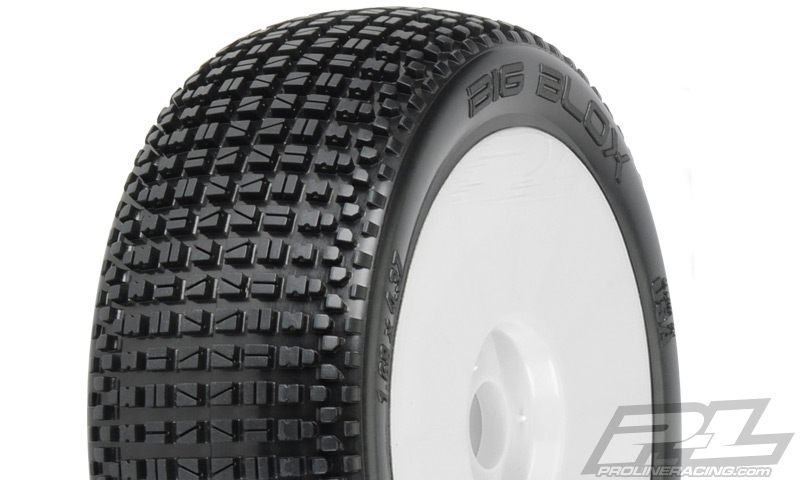 Pro-Line Big Blox Pre-Mounted 1/8 Buggy Tires (Velocity) (2)