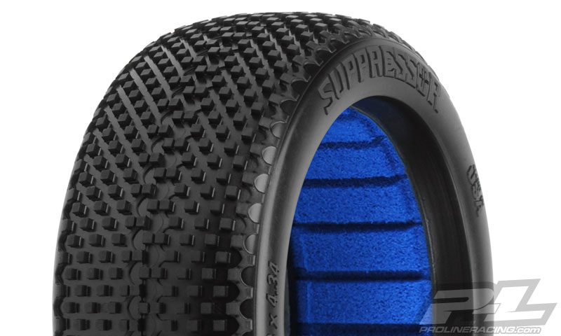 Pro-Line Suppressor M3 (Soft) Off-Road 1:8 Buggy Tires (2)F/R