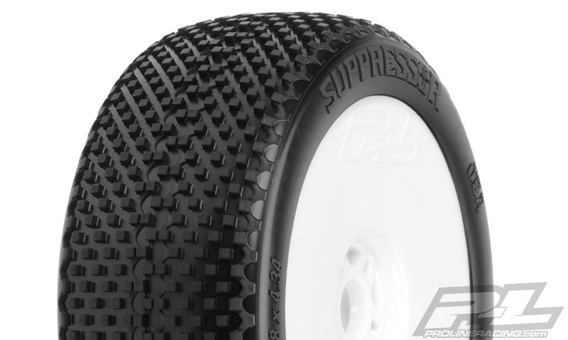 Pro-Line Suppressor X3 (Soft) Off-Road 1:8 Buggy Tires Mounted