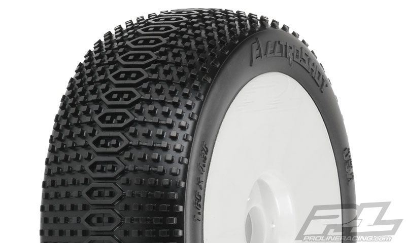 Pro-Line ElectroShot X3 (Soft) Off-Road 1:8 Buggy Tires Mtd Whi