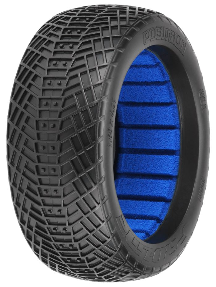 Pro-Line Positron M4 (Super Soft) Off-Road 1:8 Buggy Tires (2)