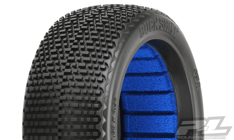 Pro-Line Buck Shot S3 (Soft) Off-Road 1/8 Buggy Tires (2) for Fr