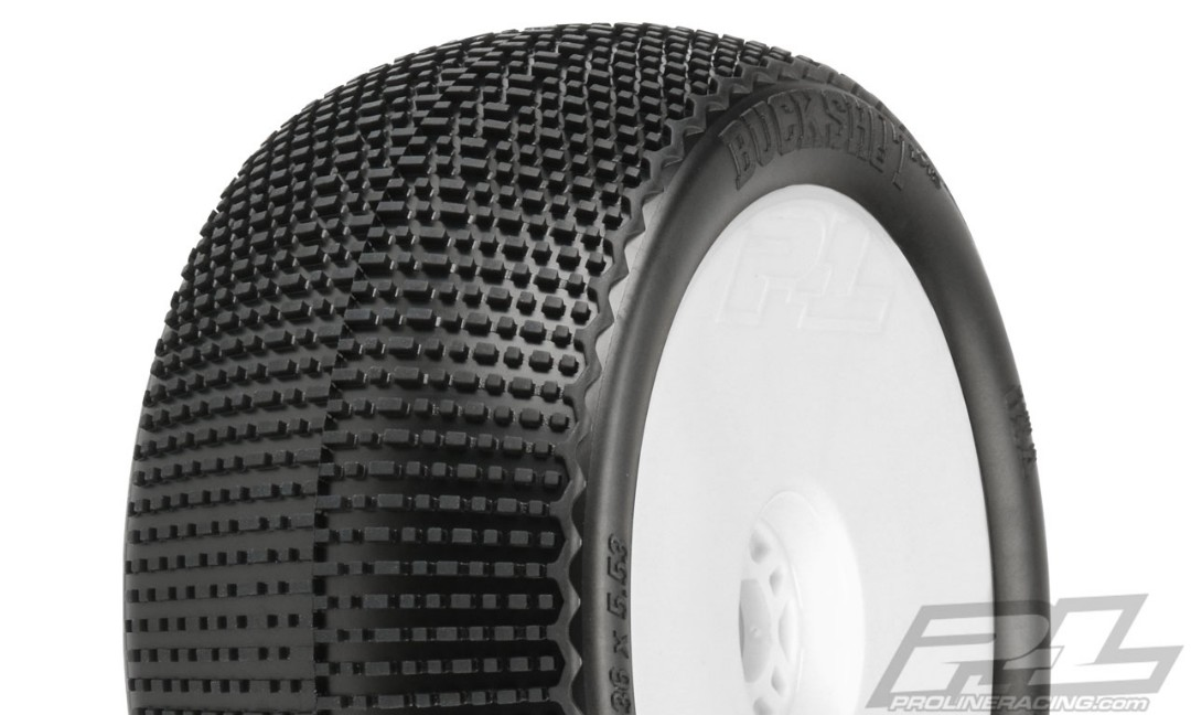 "Pro-Line Buck Shot VTR 4.0"" S3 (Soft) Off-Road 1/8 Truck Tires"