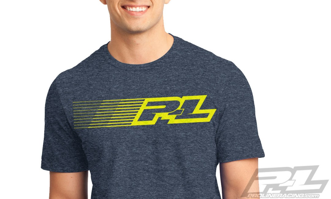 Pro-Line Linear Navy Blue T-Shirt - Small