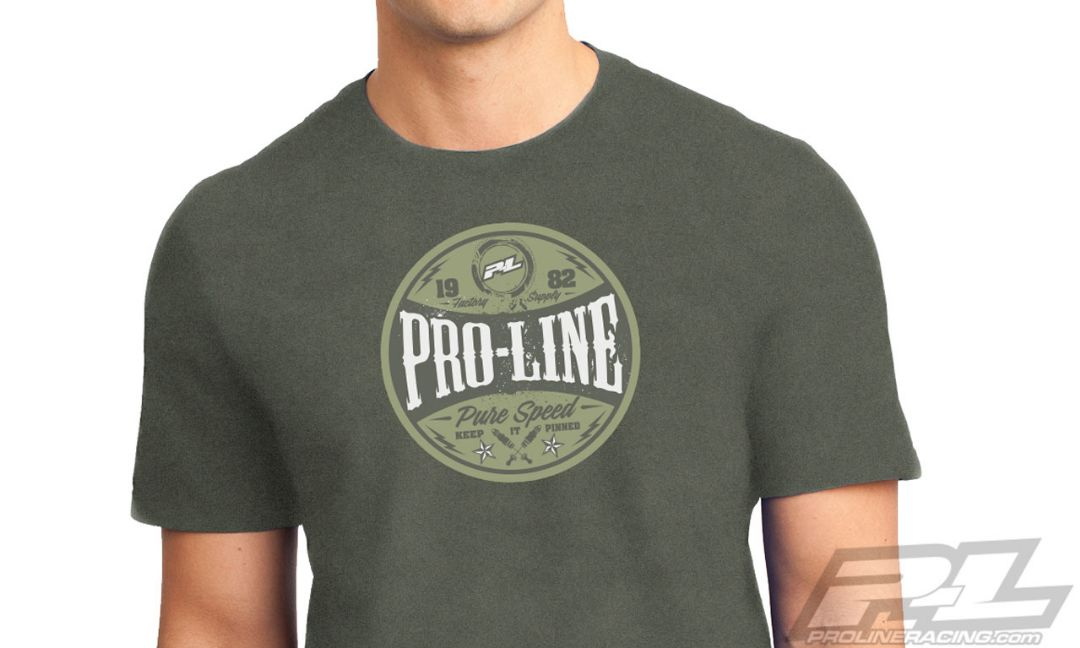 Pro-Line Hot Rod Green T-Shirt - Large