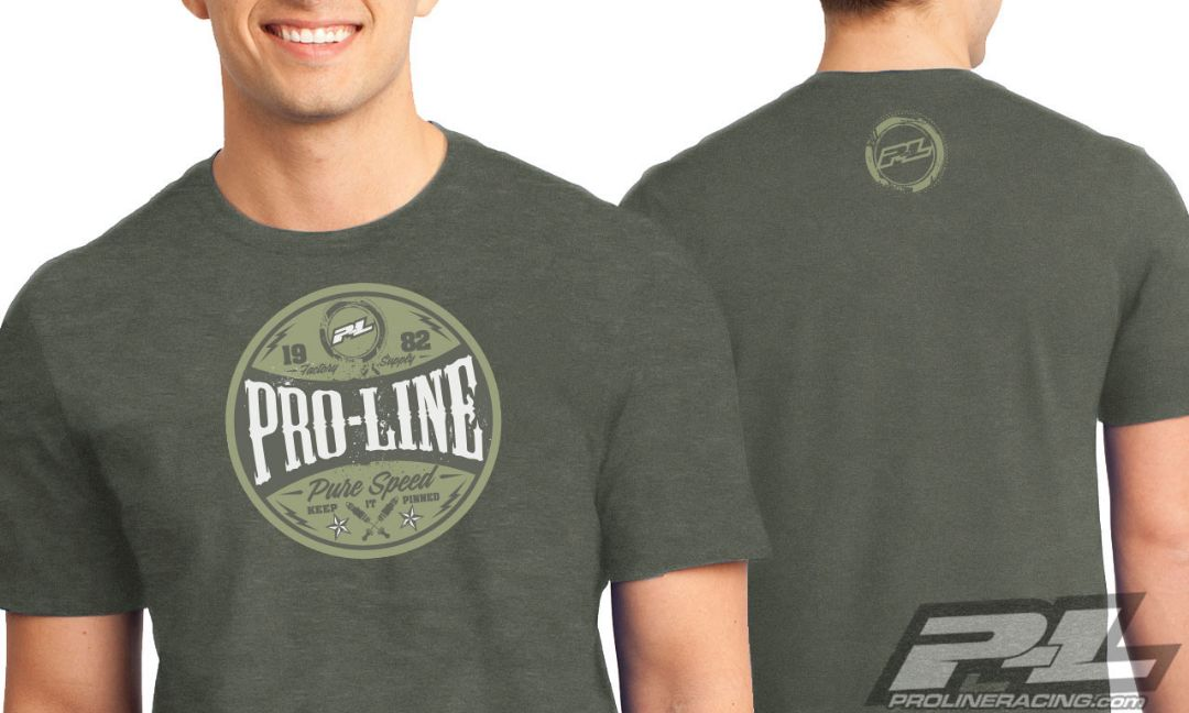 Pro-Line Hot Rod Green T-Shirt - X-Large