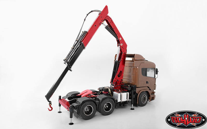 RC4WD 1/14 Scale Truck Mounted Hydraulic Crane