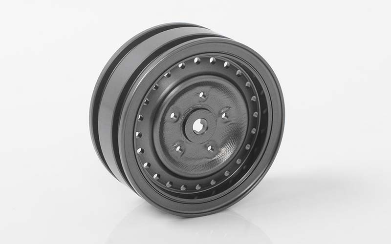 "RC4WD Cruiser 1.55"" Aluminum Wheels (Gun Metal)"