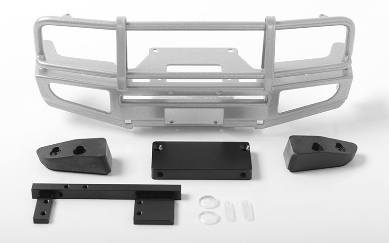 RC4WD Trifecta Front Bumper for Land Cruiser LC70 Body (Silver)