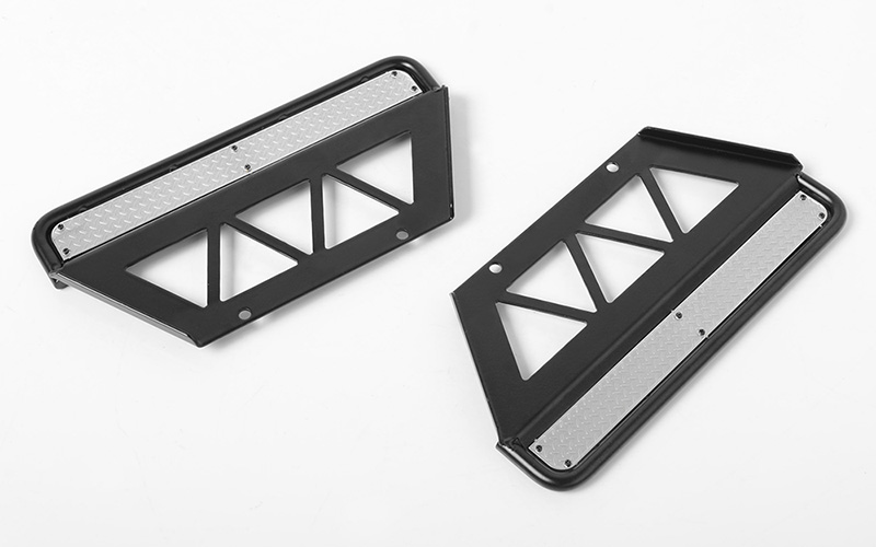 RC4WD Trifecta Side Sliders for Land Cruiser LC70 Body (Black)