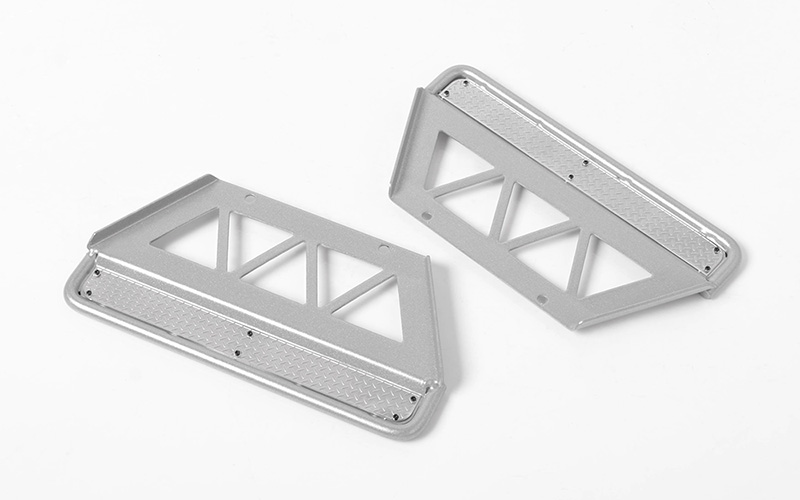 RC4WD Trifecta Side Sliders for Land Cruiser LC70 Body (Silver)