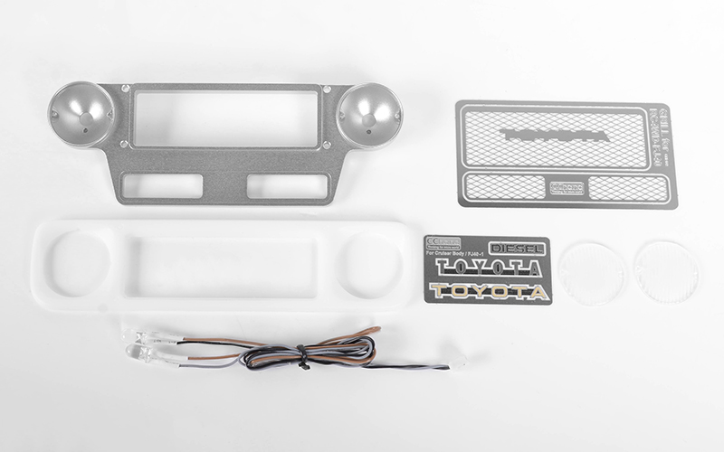 RC4WD Optional Grille Set for Cruiser Body Set (w/LED)