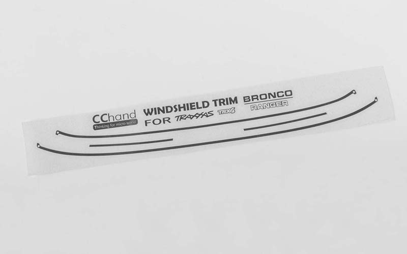 RC4WD Windshield Trim for Traxxas TRX-4 '79 Bronco Ranger XLT