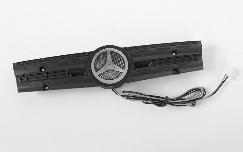 RC4WD Grill Logo W/Light for Mercedes-Benz Arocs 3348 6x4 Tipper