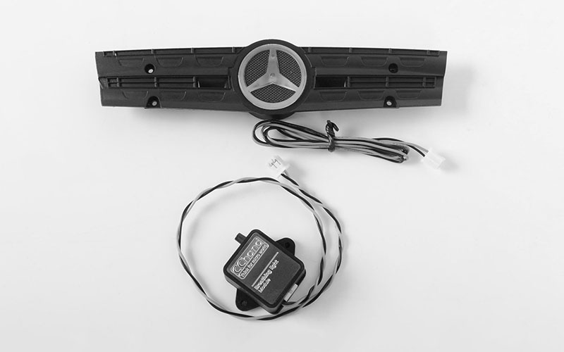 RC4WD Ambient Light Grill Logo W/Strobe Effect Unit for Mercedes