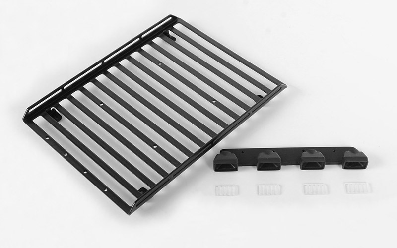 RC4WD Steel Roof Rack W/Lights for 1/18 BlackJack Body