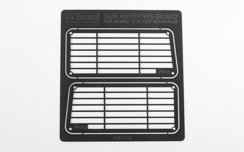 RC4WD Metal Side Window Guard for 1/18 Gelande II RTR w/Black R