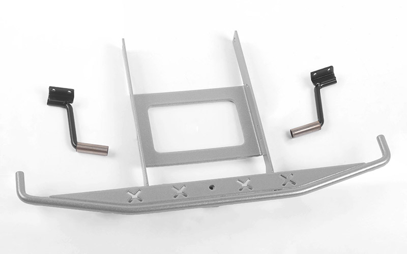 RC4WD Rough Stuff Metal Rear Bumper w/Exhaust Tips for Axial SC