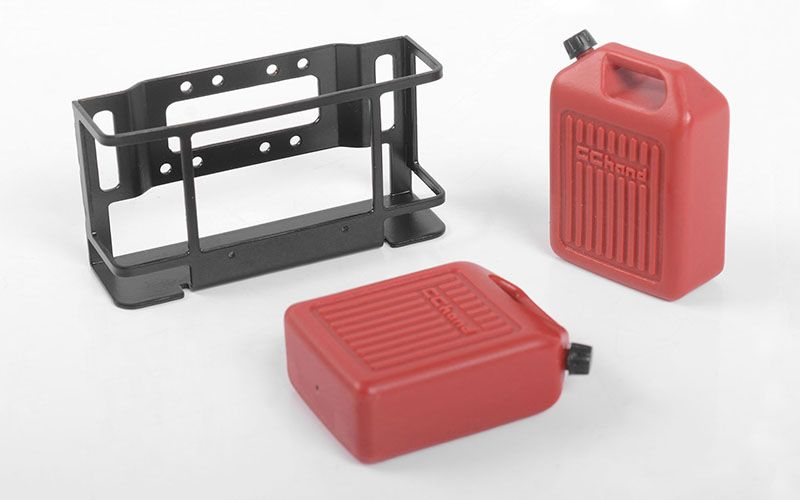 RC4WD 1/10 Dual Portable Jerry Cans w/ Mount