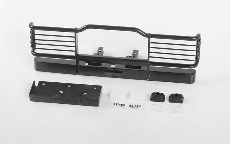 RC4WD Camel Bumper W/ Winch Mount and IPF Lights for Traxxas TR