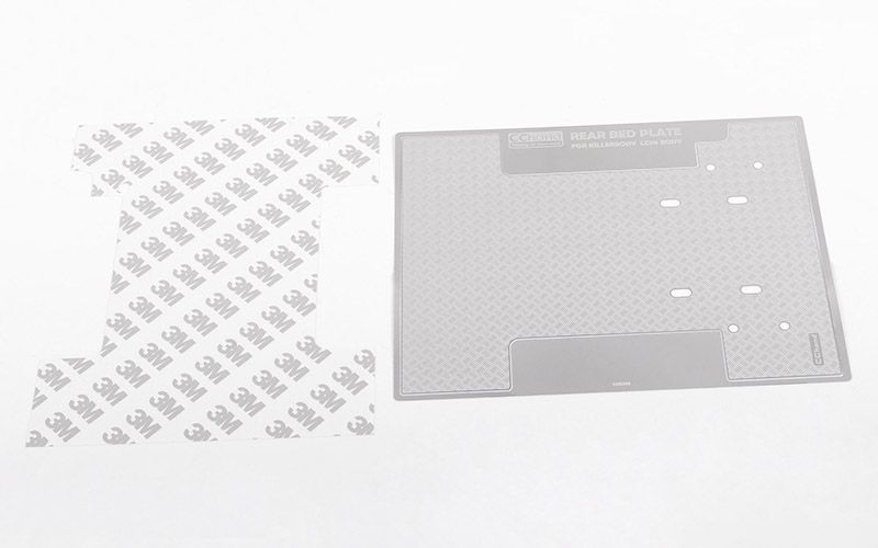 RC4WD Diamond Plate Rear Bed for RC4WD TF2 LWB Toyota LC70