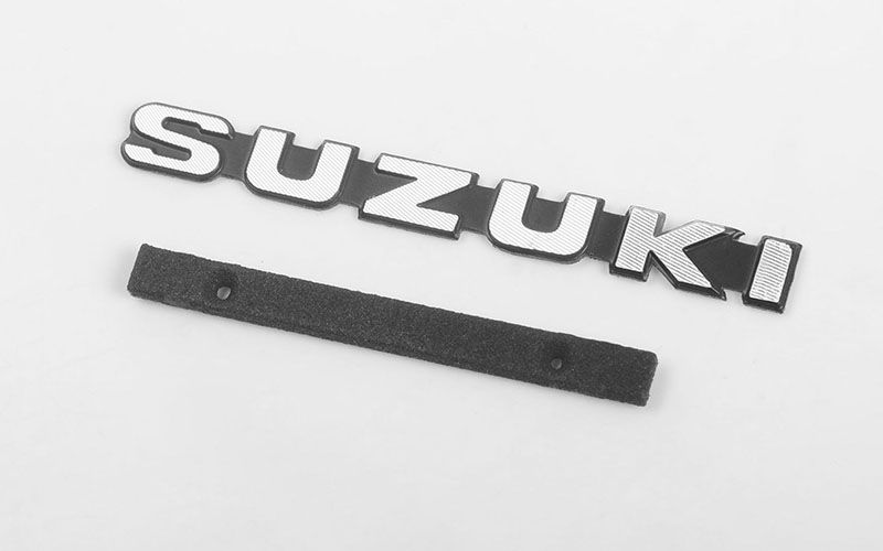 RC4WD Metal Front Grille Logo for Capo Racing Samurai 1/6 RC Sc