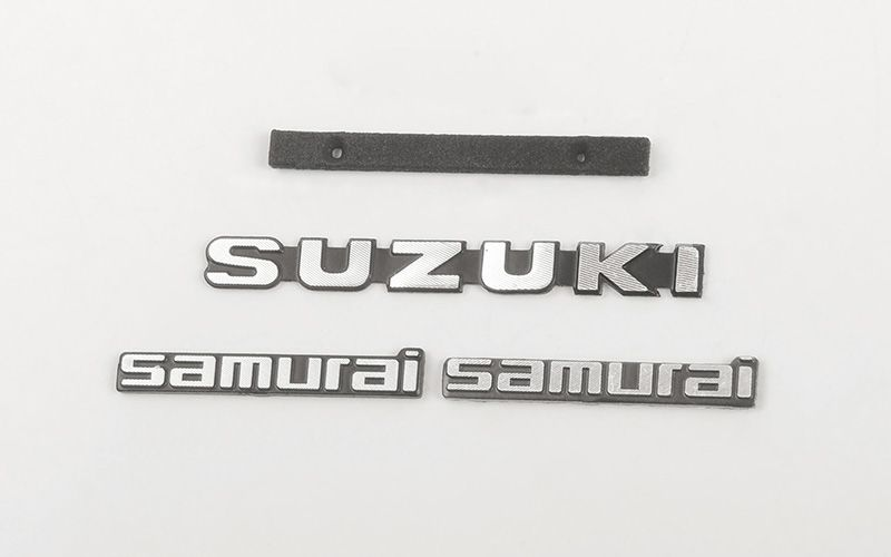 RC4WD Metal Logo Set for Capo Racing Samurai 1/6 RC Scale Crawl